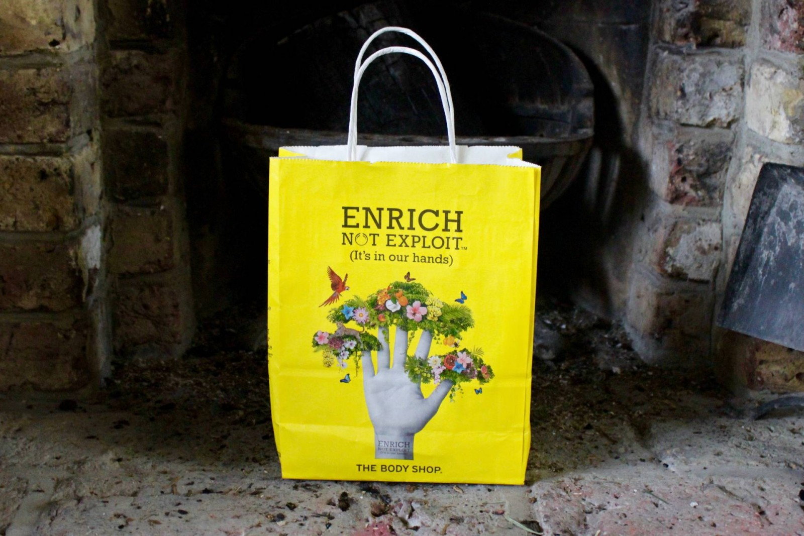 The Body Shop carrier bag