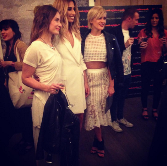 Stacey Solomon at the launch of her clothing collection