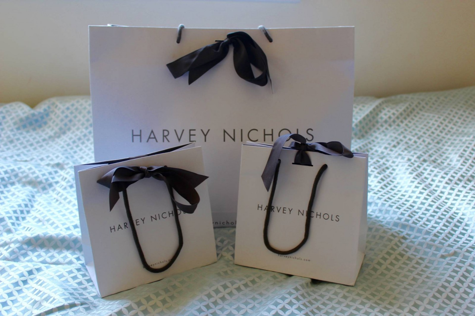 Harvey Nichols shopping bags