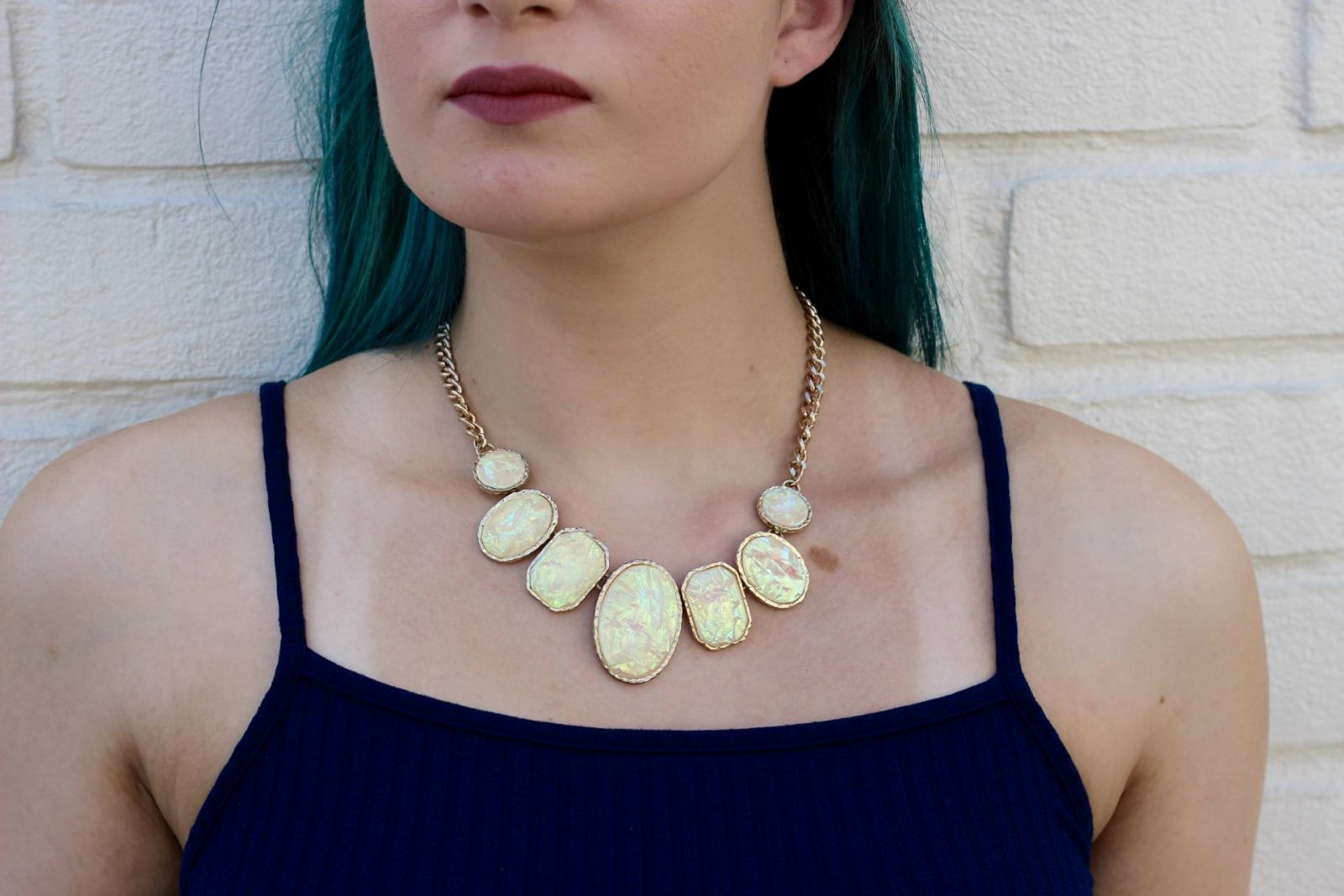 Primark statement necklace