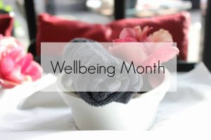 wellbeing month welcome