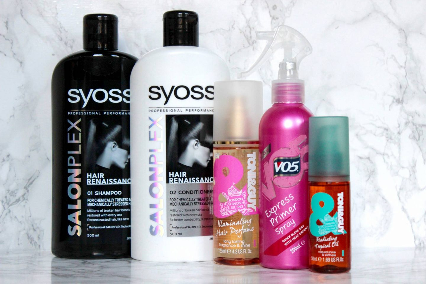 five happy hair products