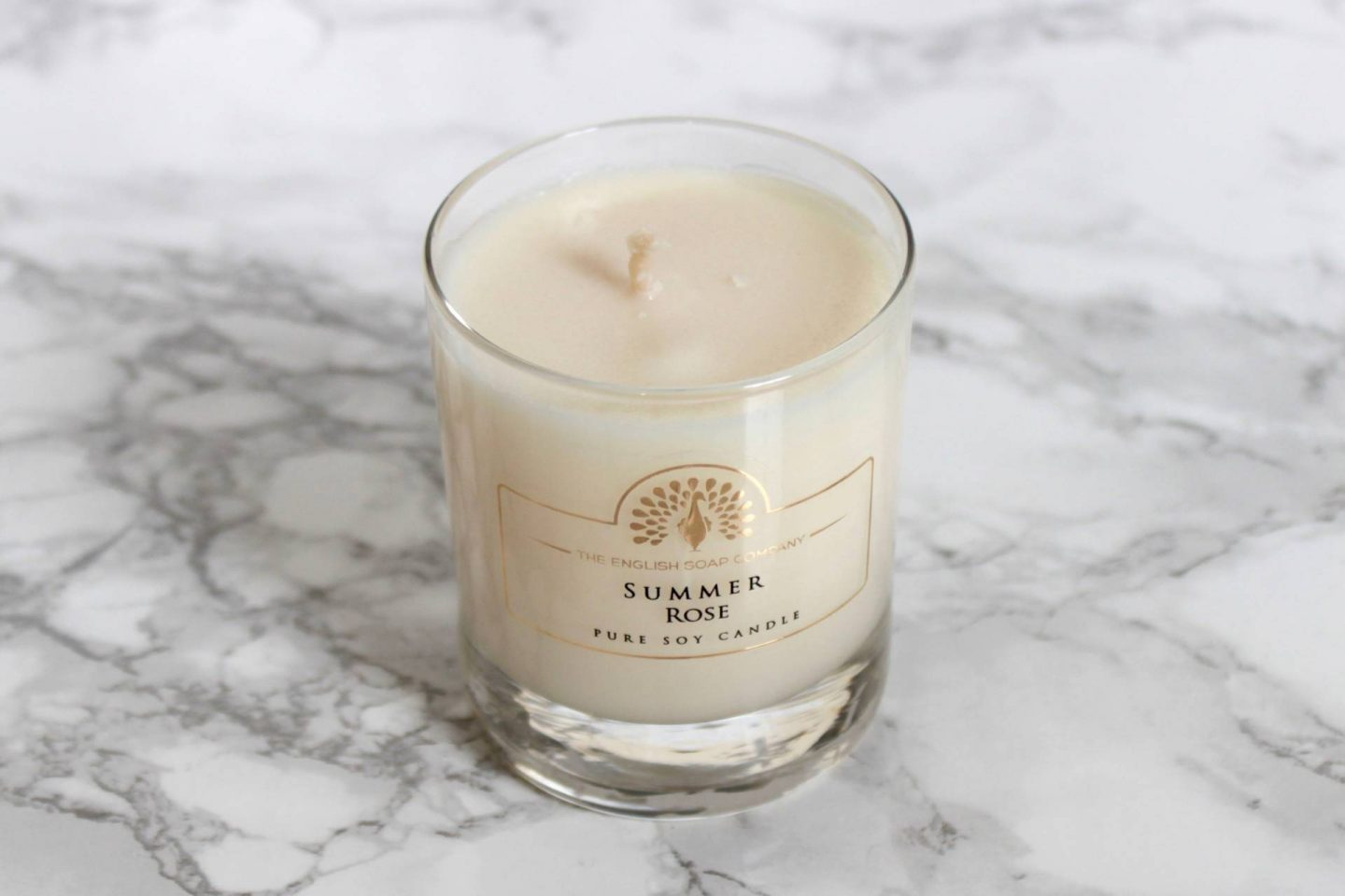the english soap company summer rose candle