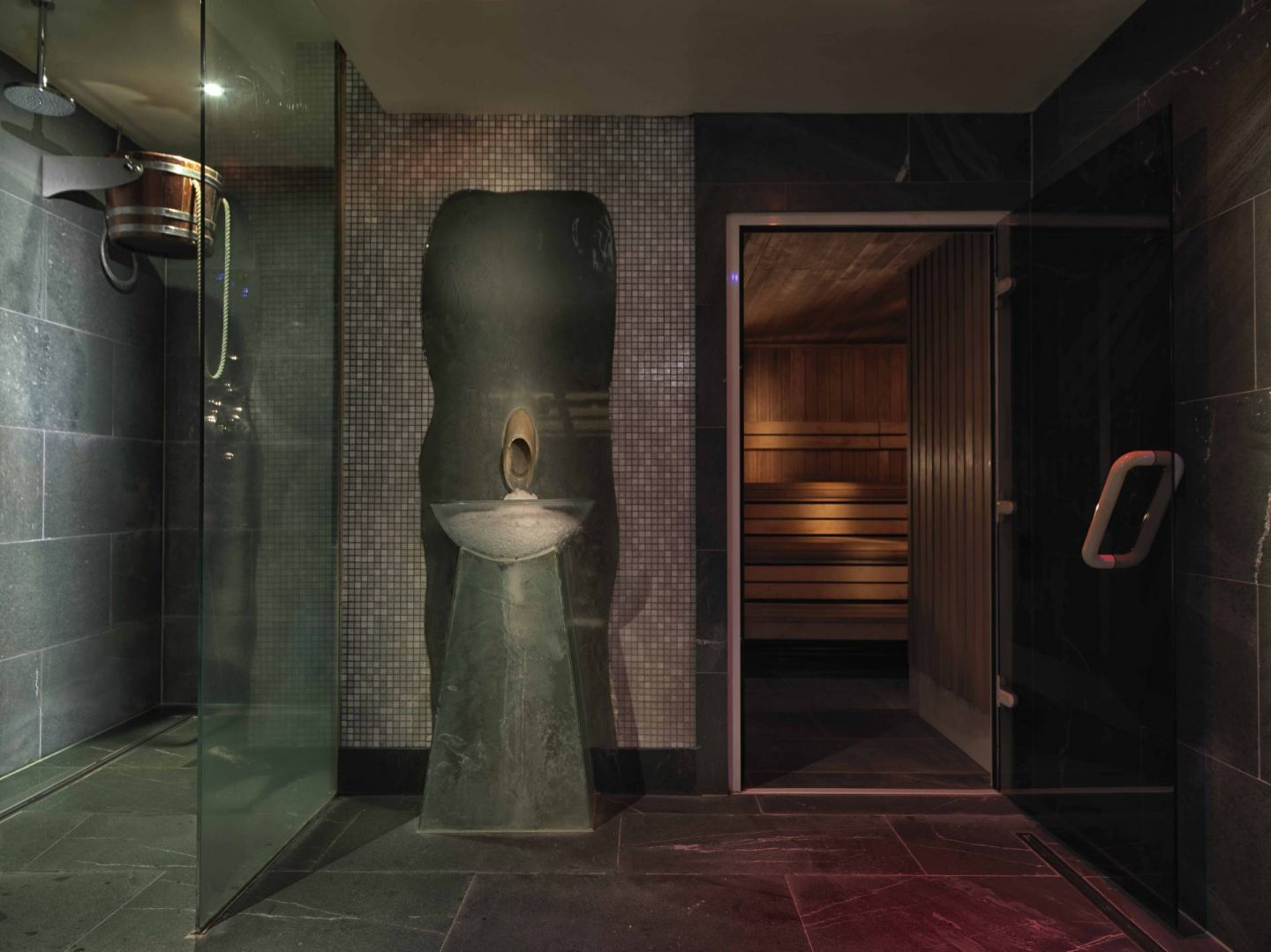 The Mayfair hotel sauna spa facilities