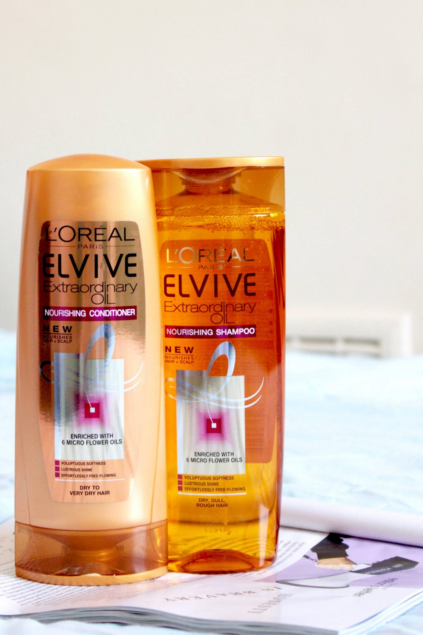L'Oreal Elvive Extraordinary Oil Shampoo and Conditioner