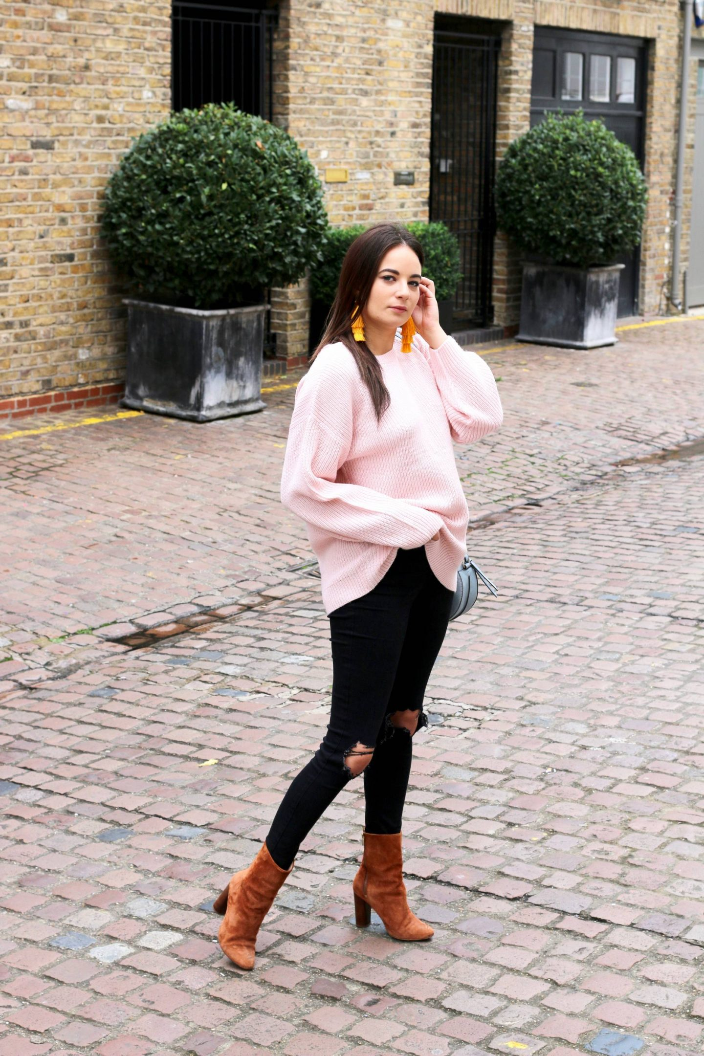 New Look baby pink jumper