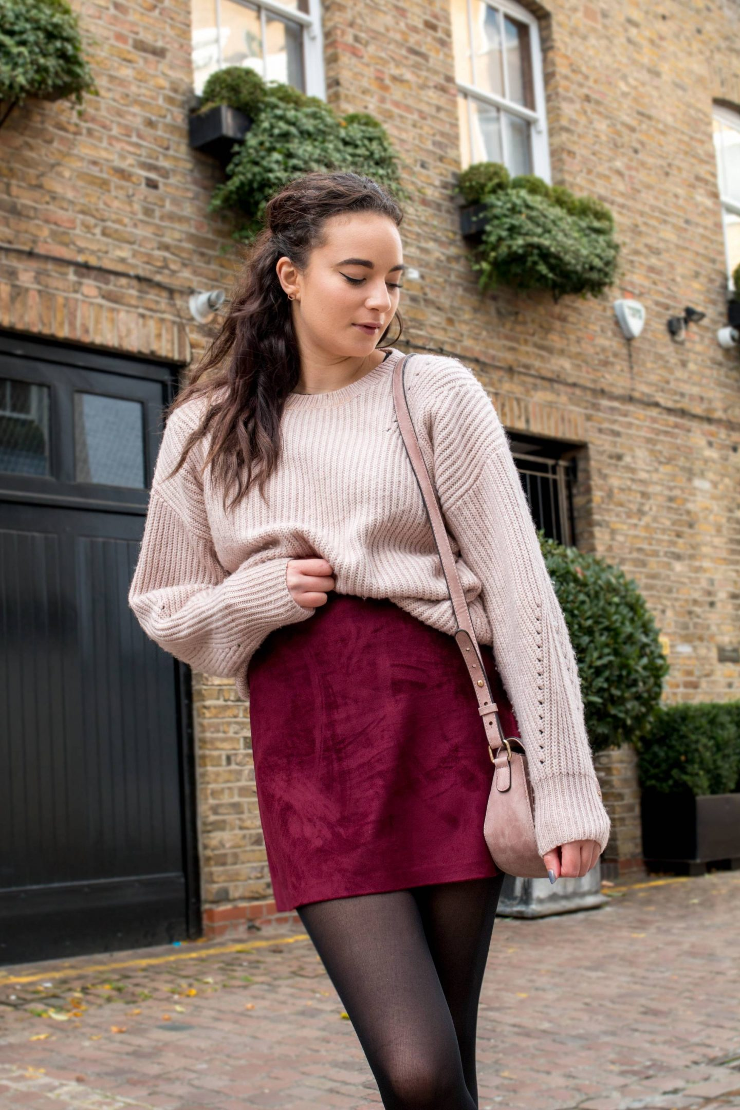 Marshmallow pink New Look knitted jumper
