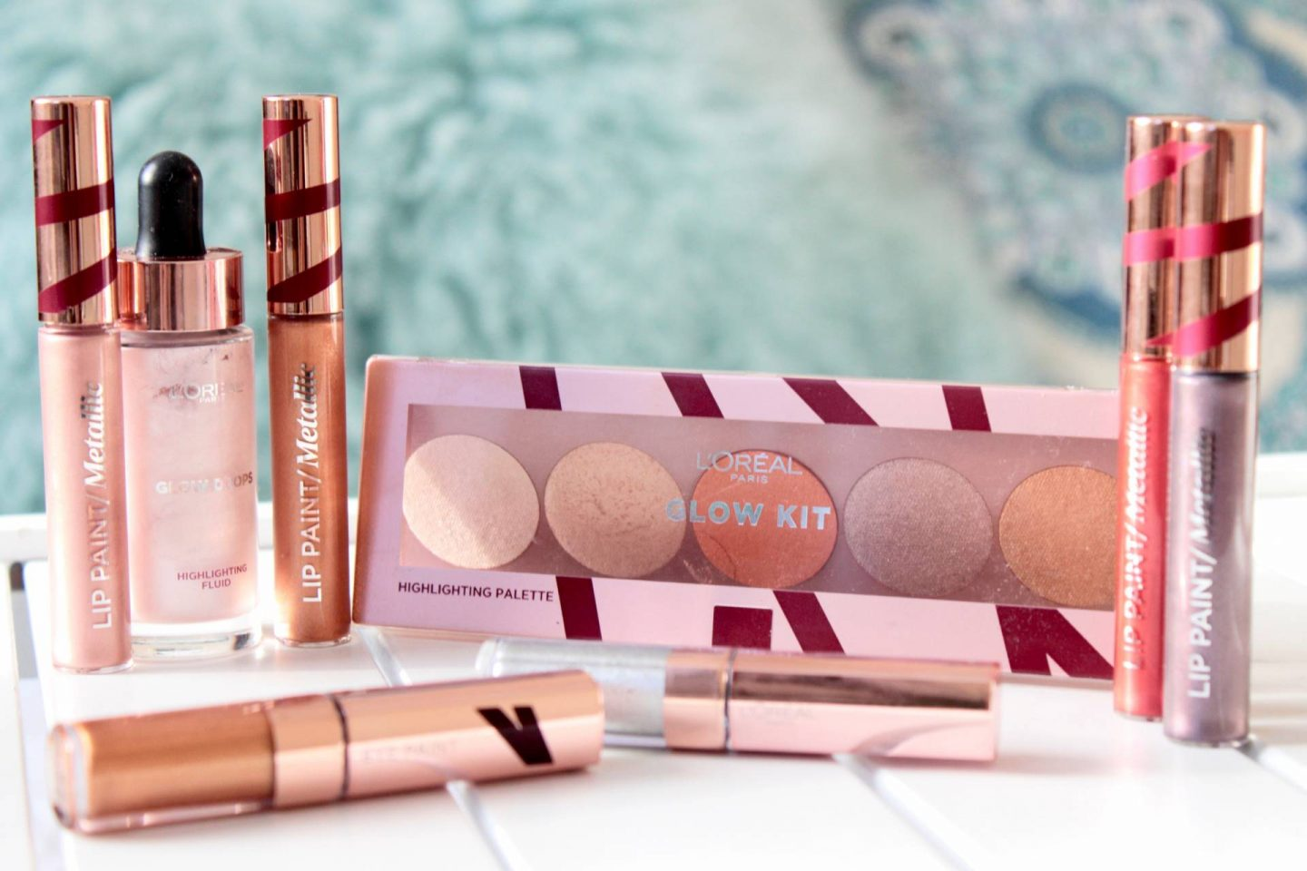 L'Oreal Merry Metals glow collection