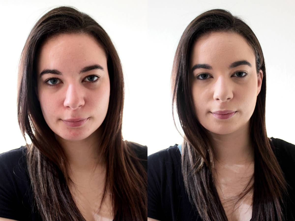 Vichy foundation before after