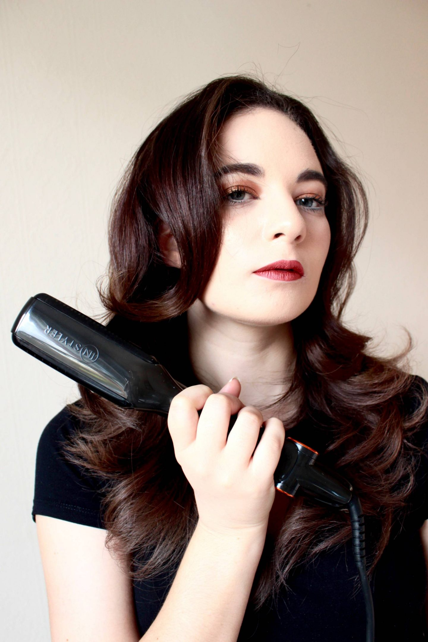 InStyler MAX curling hair