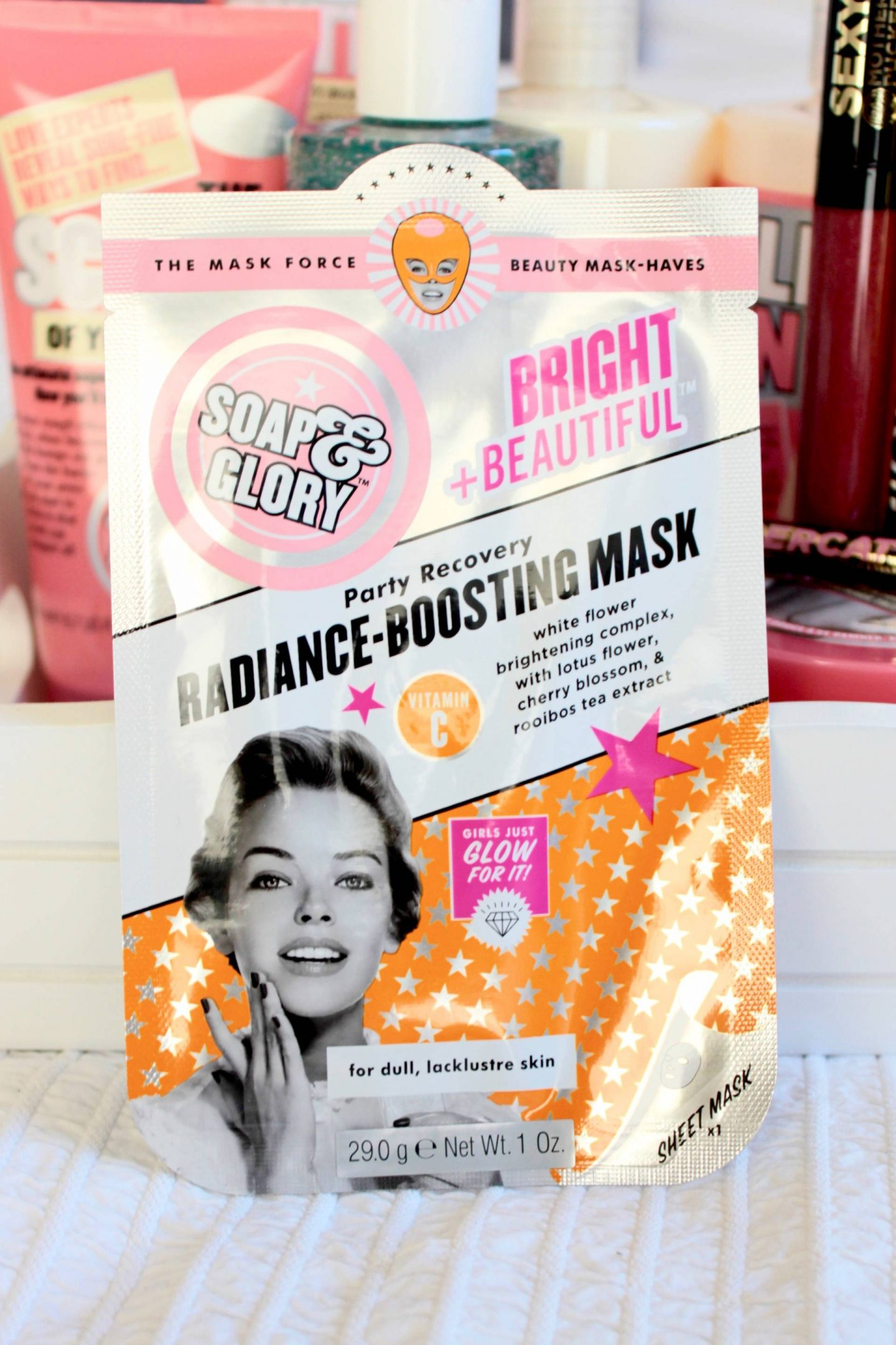 soap and glory radiance boosting mask