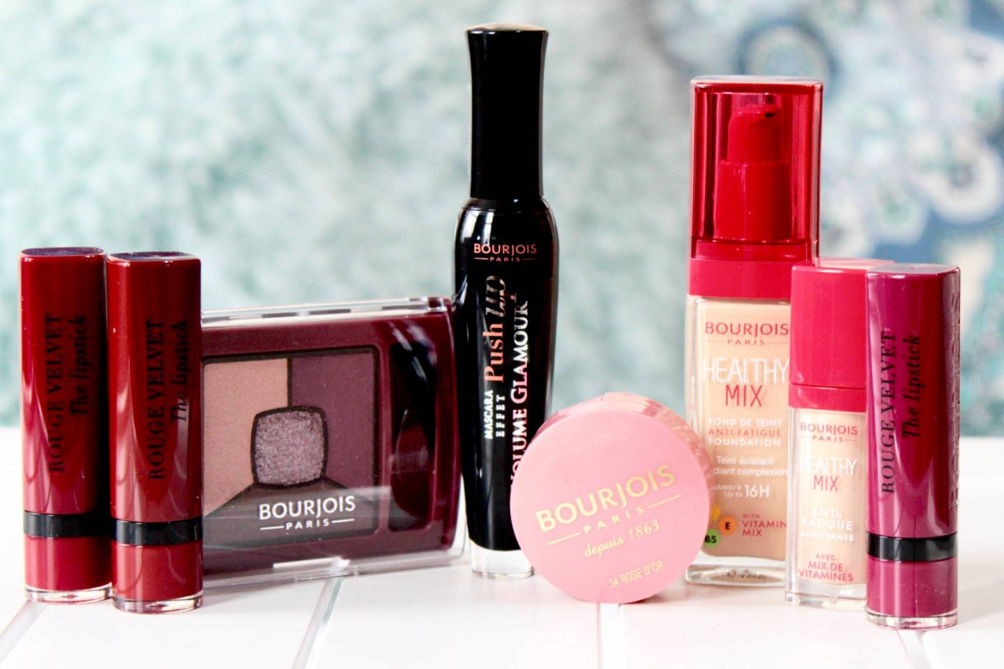 Bourjois makeup collection berry party look