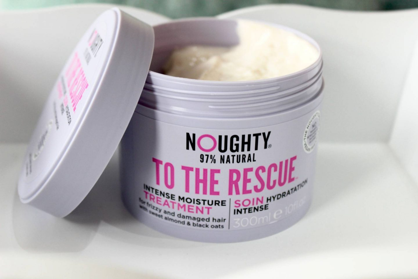 Noughty to the rescue intense moisture treatment