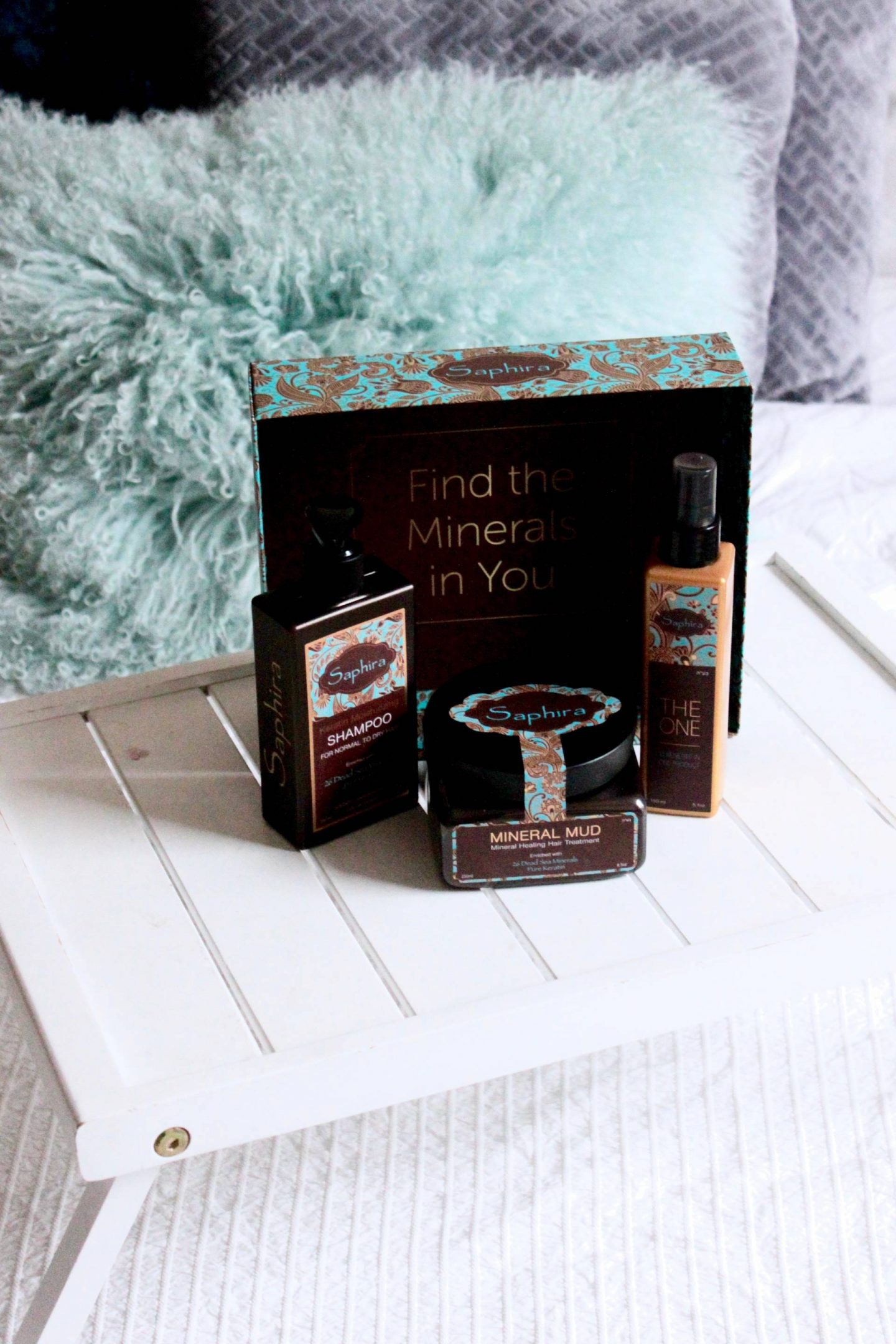 Saphira Mineral mud mask gift set