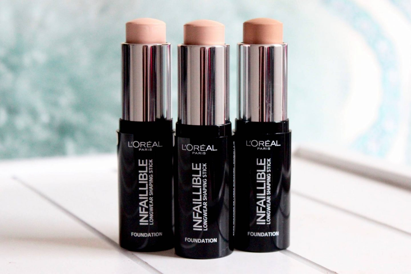 L'Oreal Infallible foundation shaping sticks