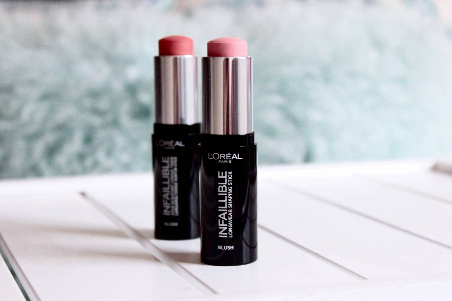 L'Oreal Infallible stick blushers shape it
