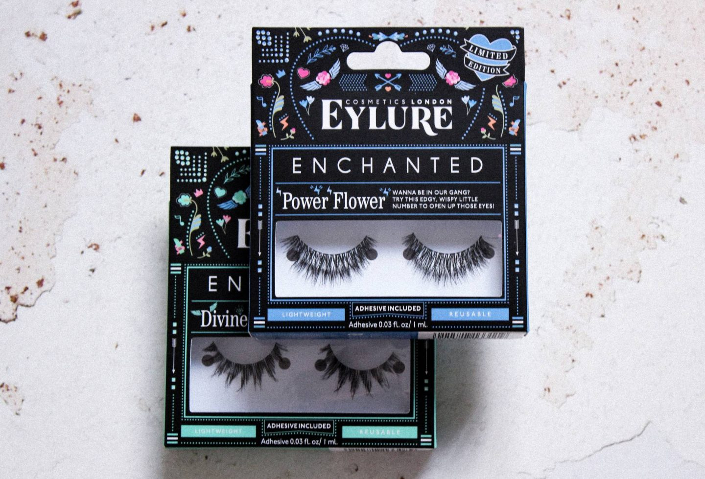 New Eylure Enchanted lashes
