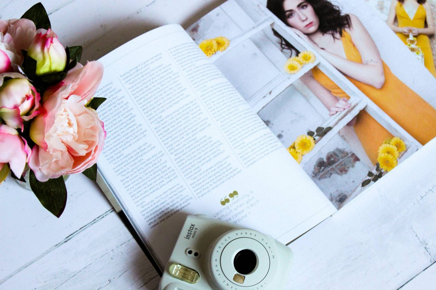 Blogosphere issue 17 with dodie cover star