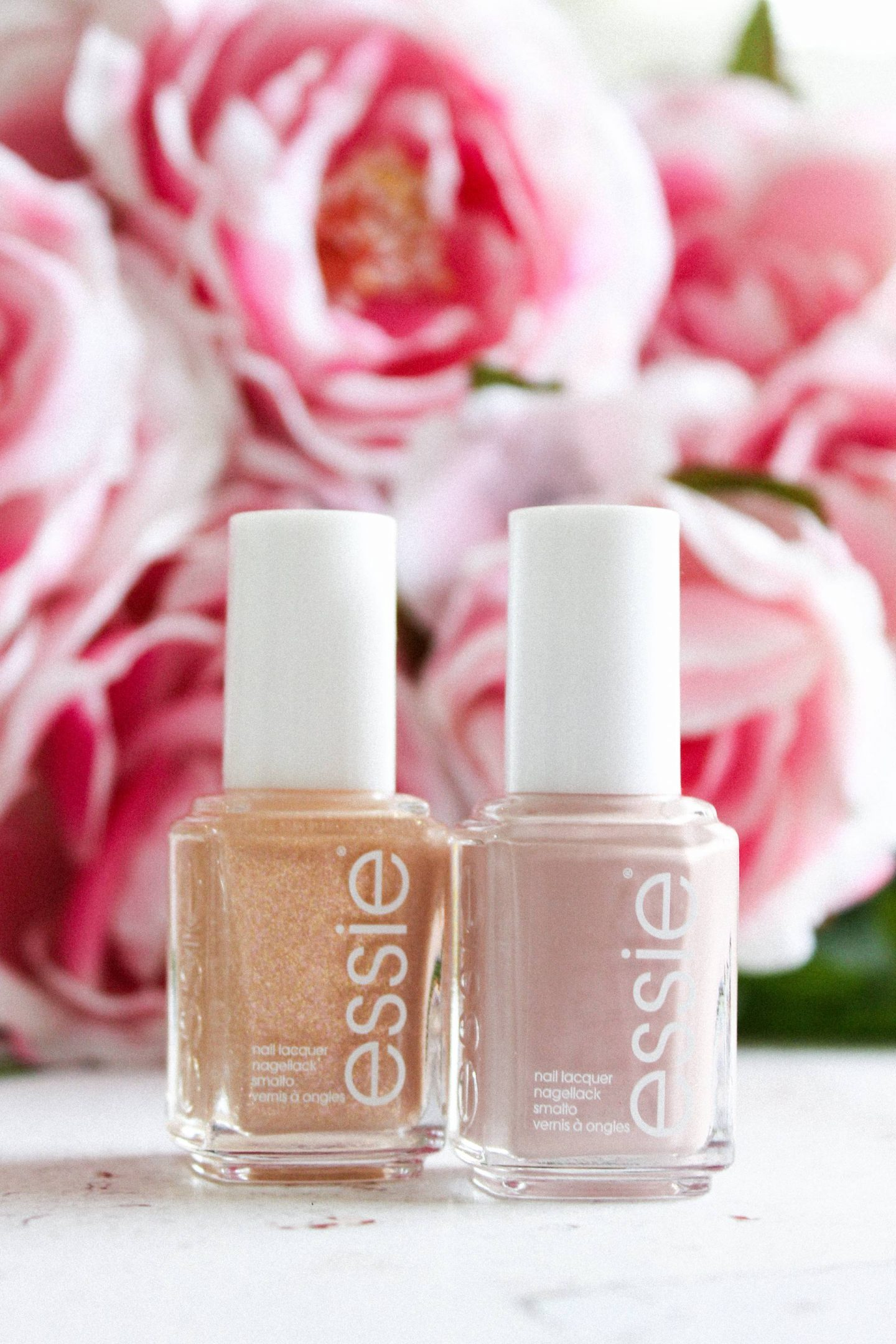 essie topless and barefoot mani thanks