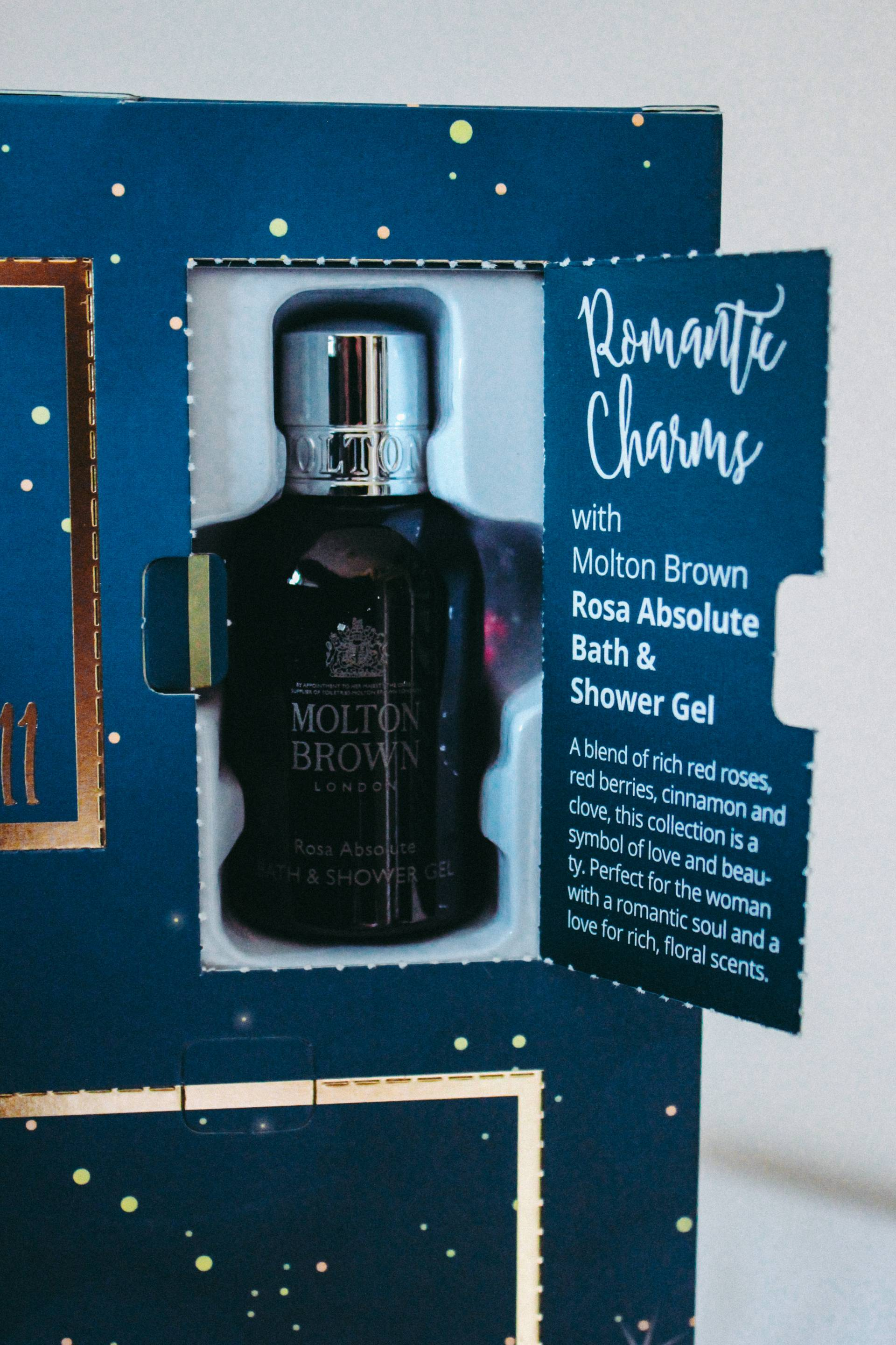 Molton Brown shower gel miniature