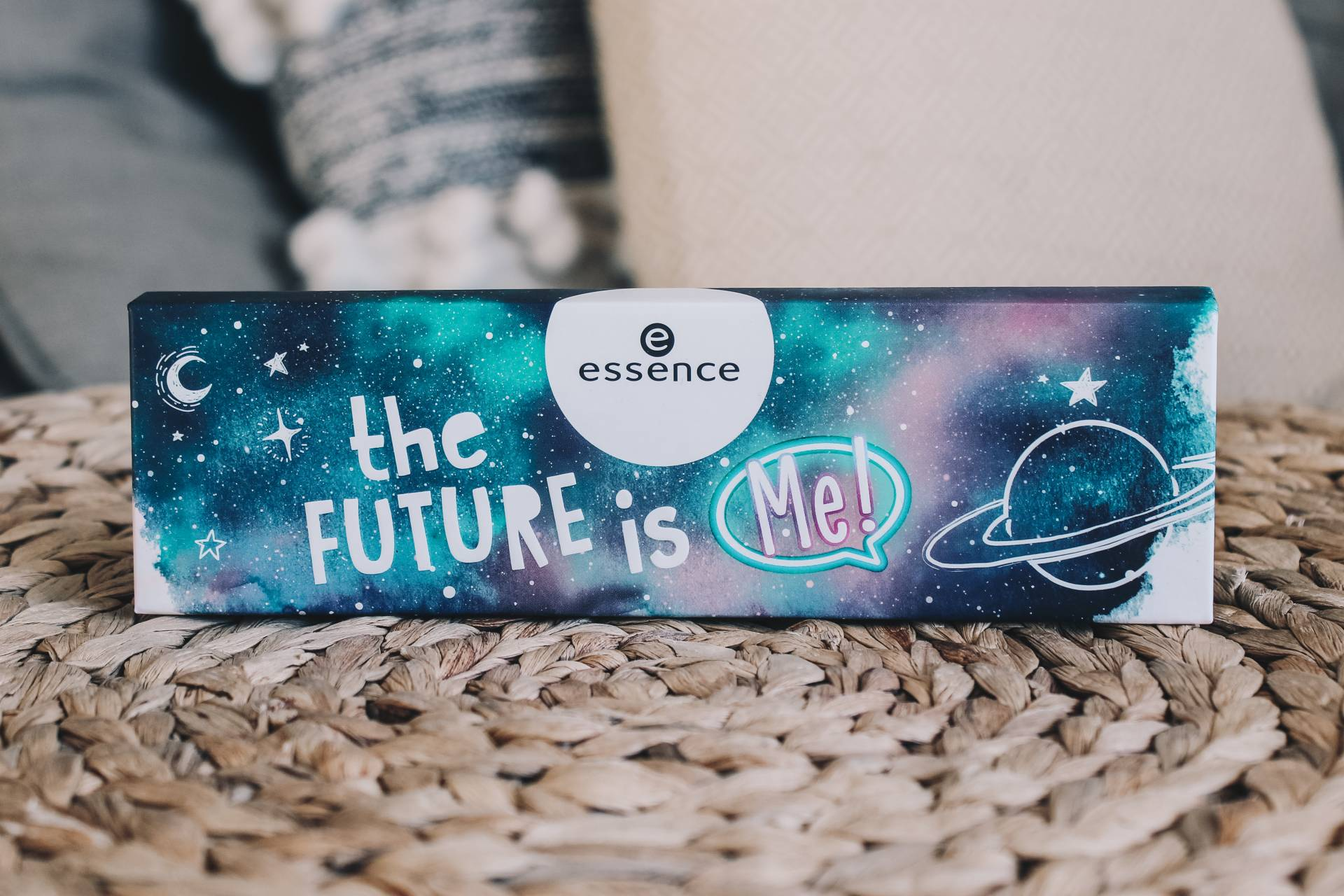 The Future Is Me palette packaging