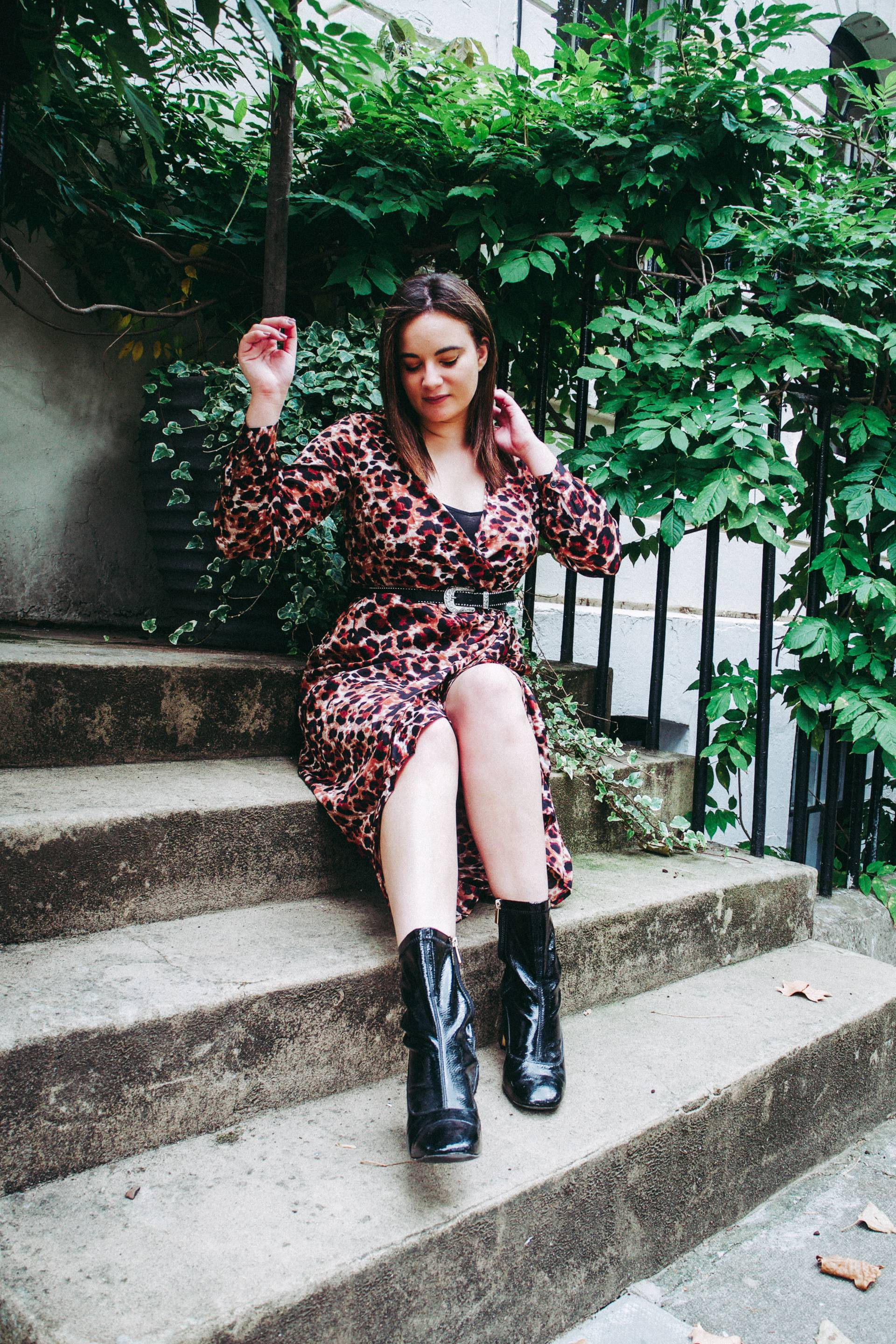 Influence leopard print dress