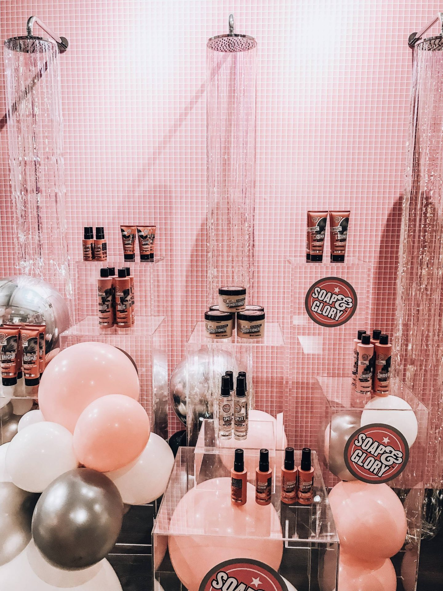 Soap and Glory haircare launch party