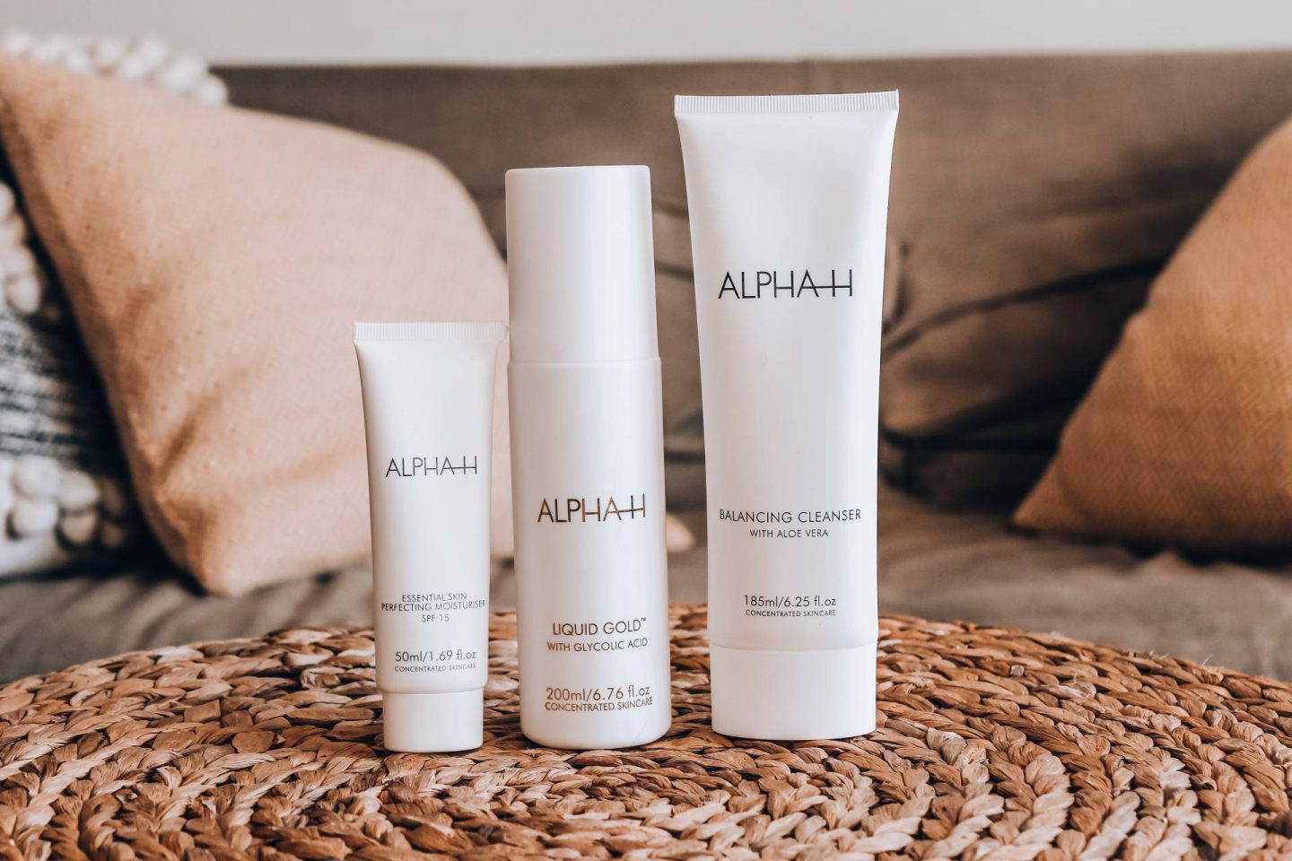 Alpha H skincare set
