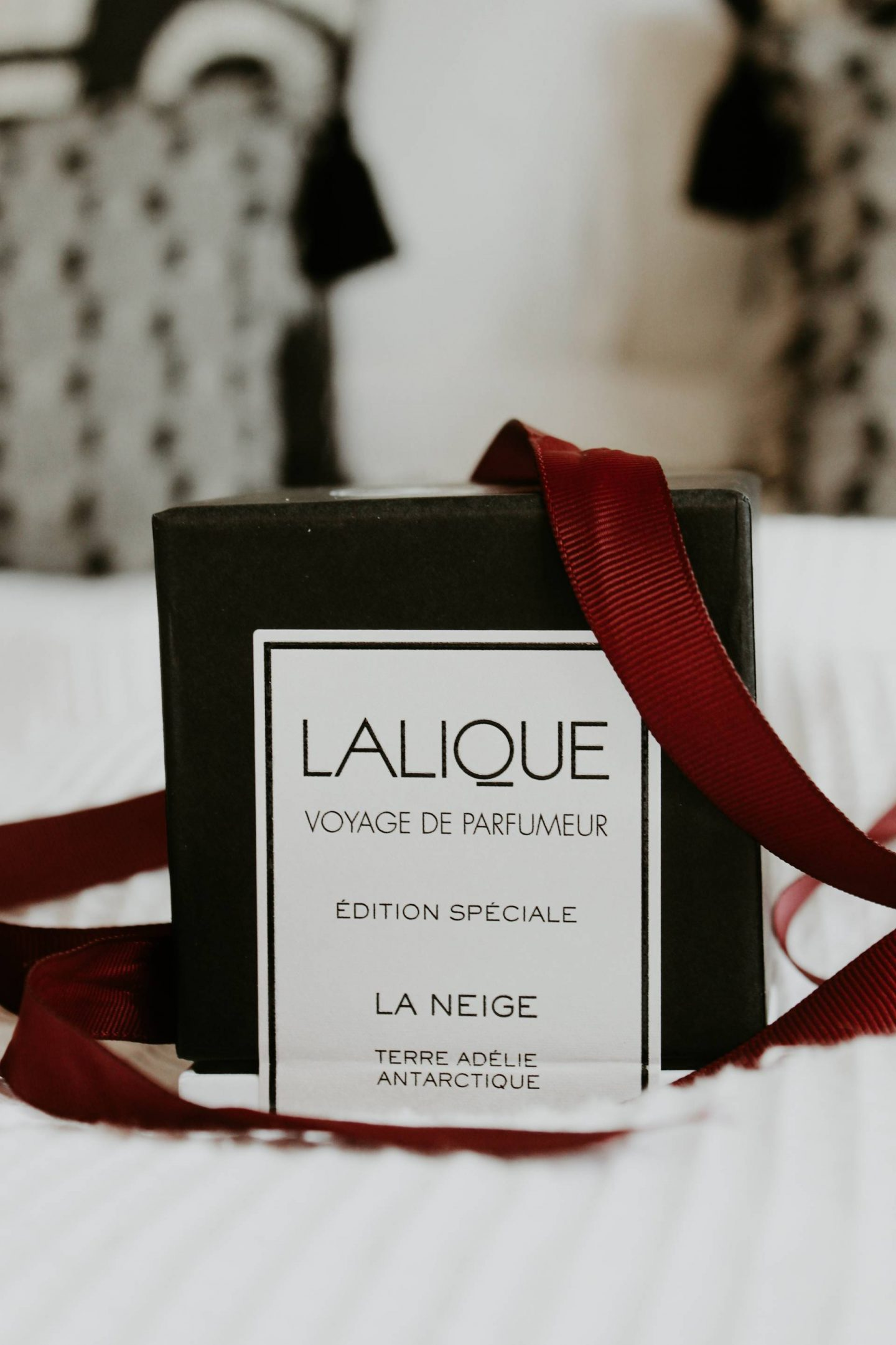 Lalique gift box for La Neige