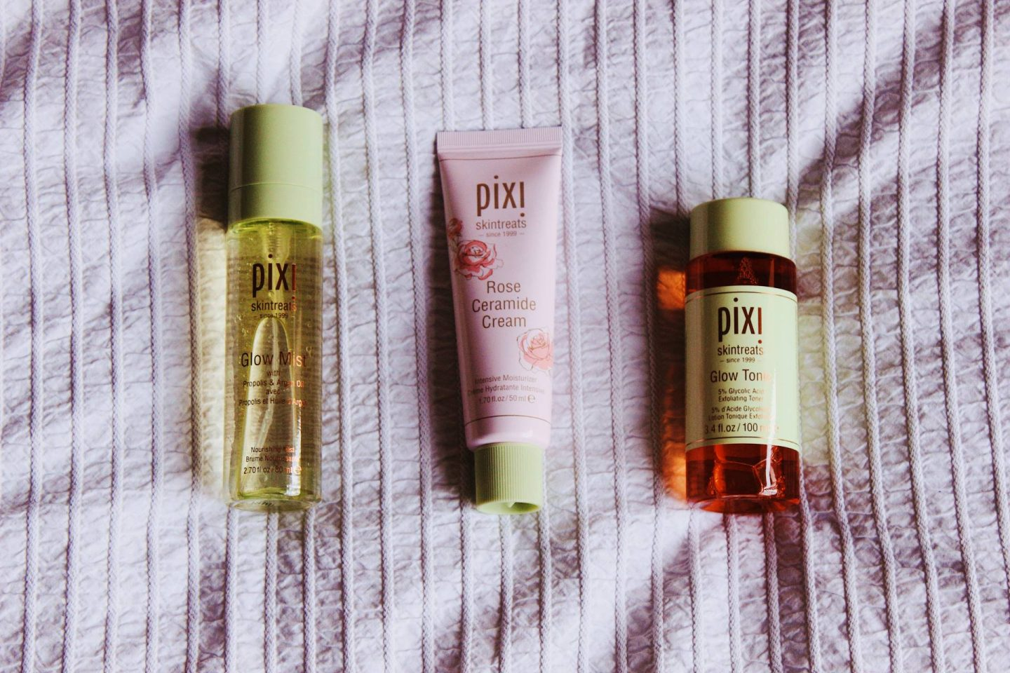Pixi Beauty favourite skintreats products