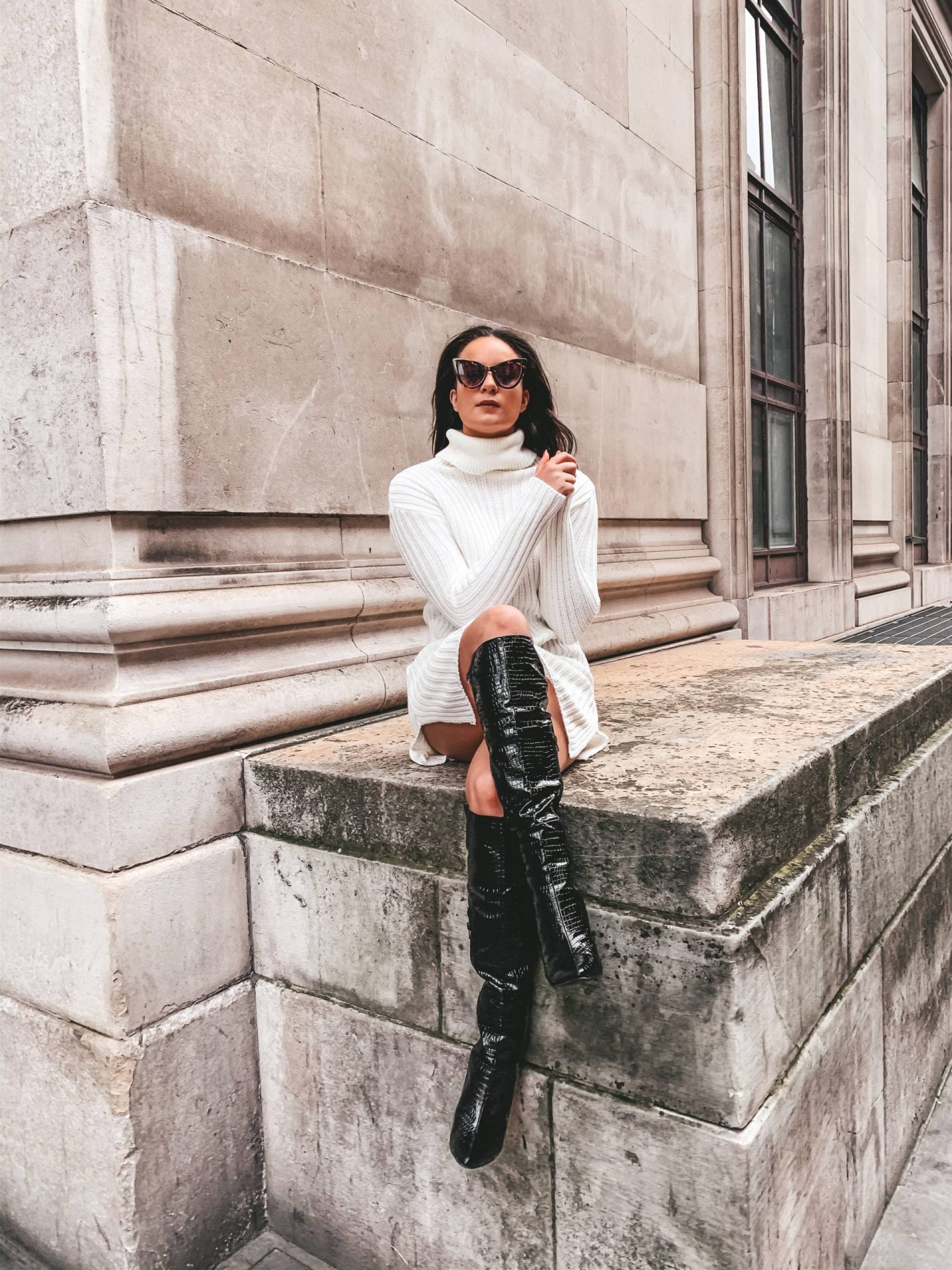 how to style jumper dresses