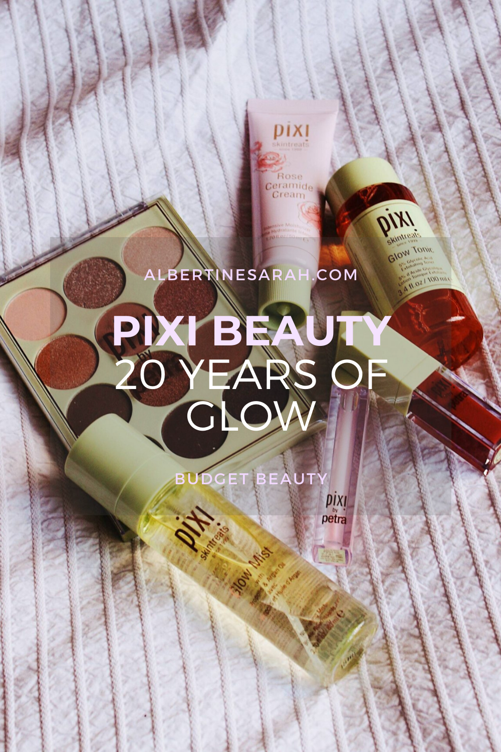 Pixi Beauty pinterest graphic