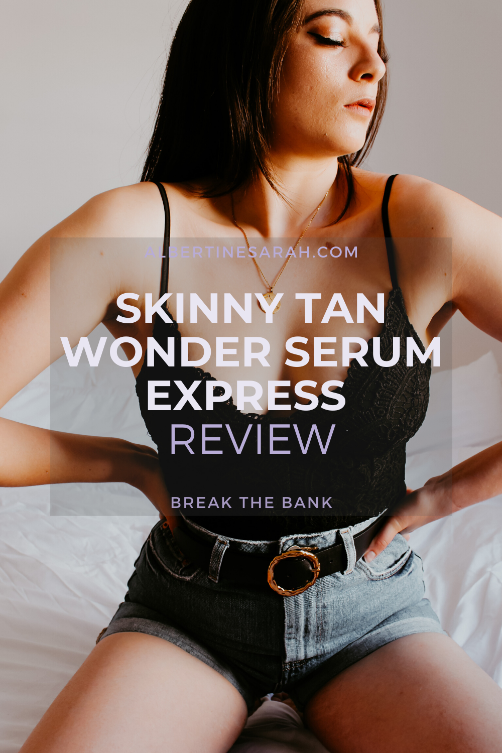 Skinny Tan Wonder Serum Pinterest