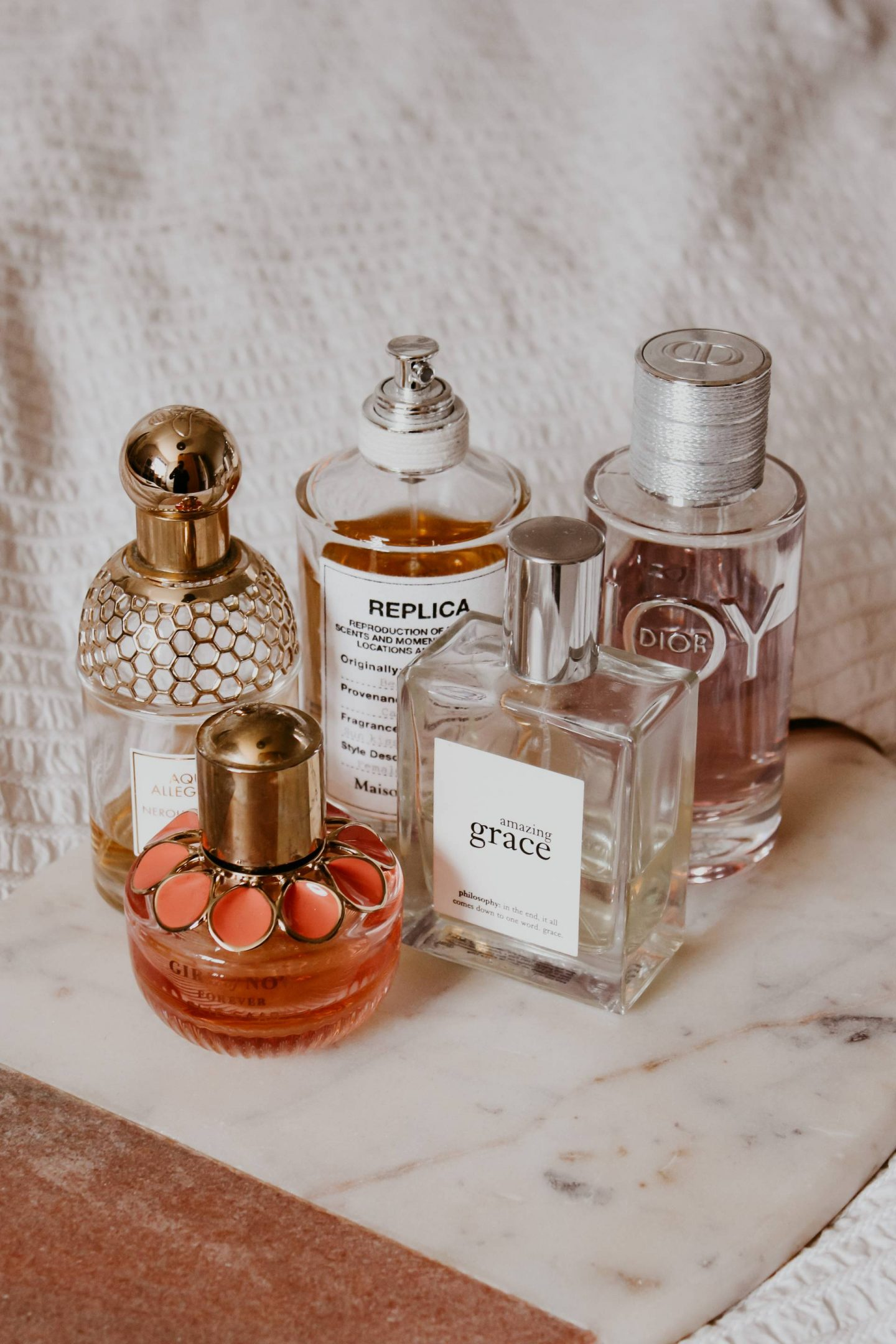 five premium fragrances