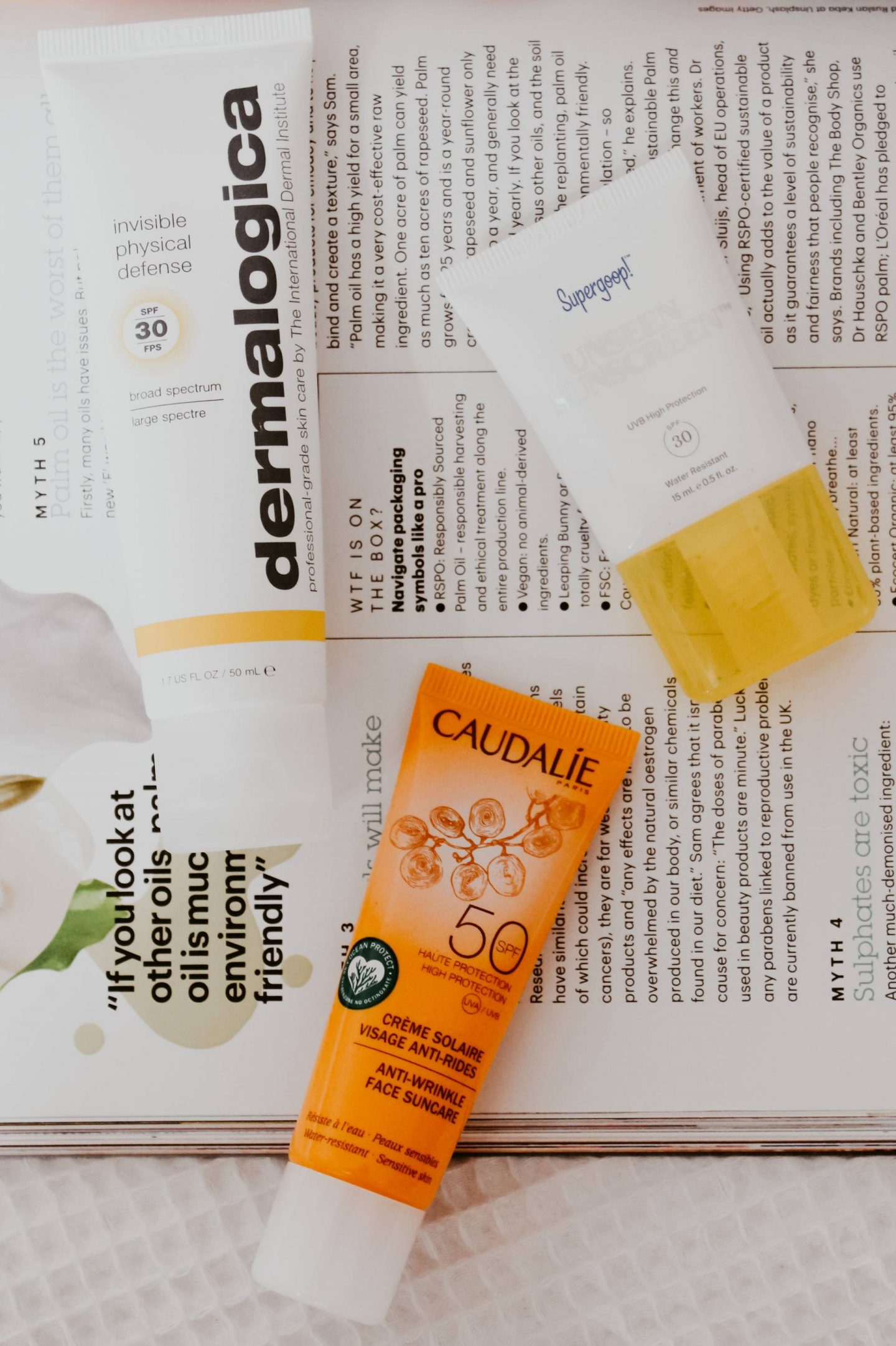 best sunscreens for sensitive skin