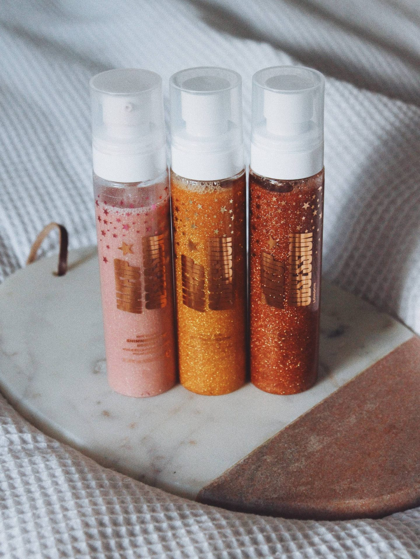 Makeup Obsession Shimmer Glow Body Oils