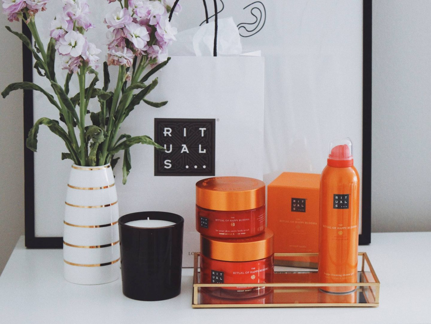 Rituals body care and home fragrance products