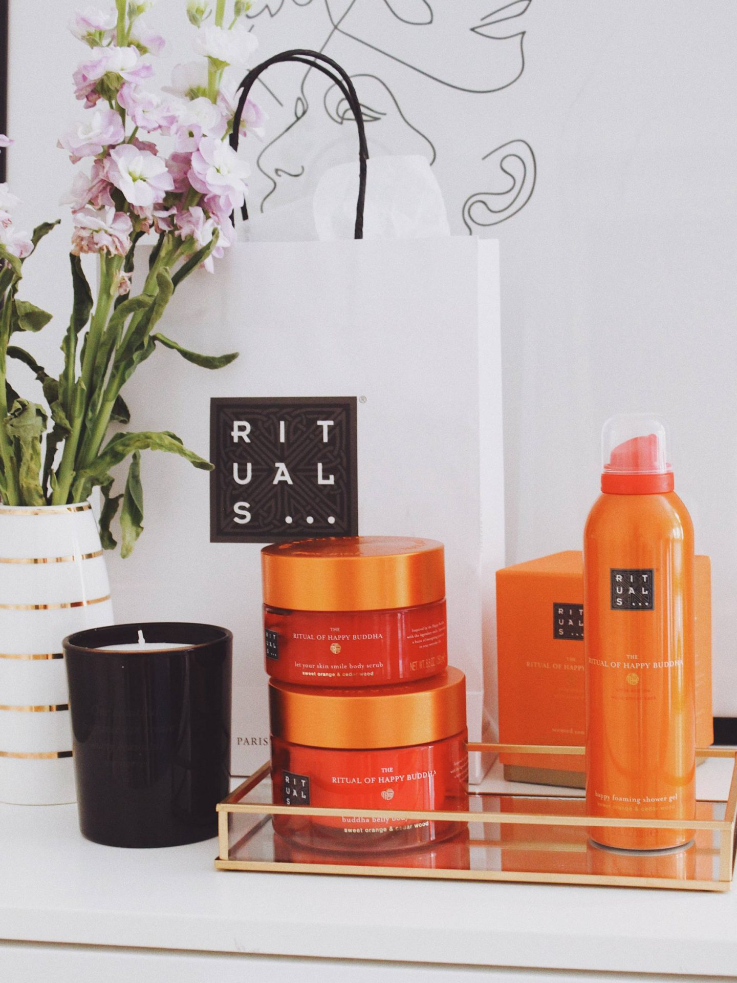 Rituals body care products